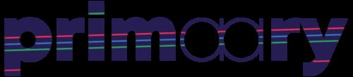 logo avec bandes colorées
